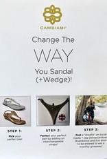 Cambiami Sandal Strap Print