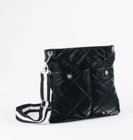 Sondra Roberts Shiny Nylon Crossbody