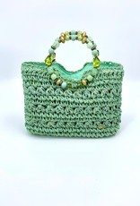 Cappelli Jeweled Handle Bag