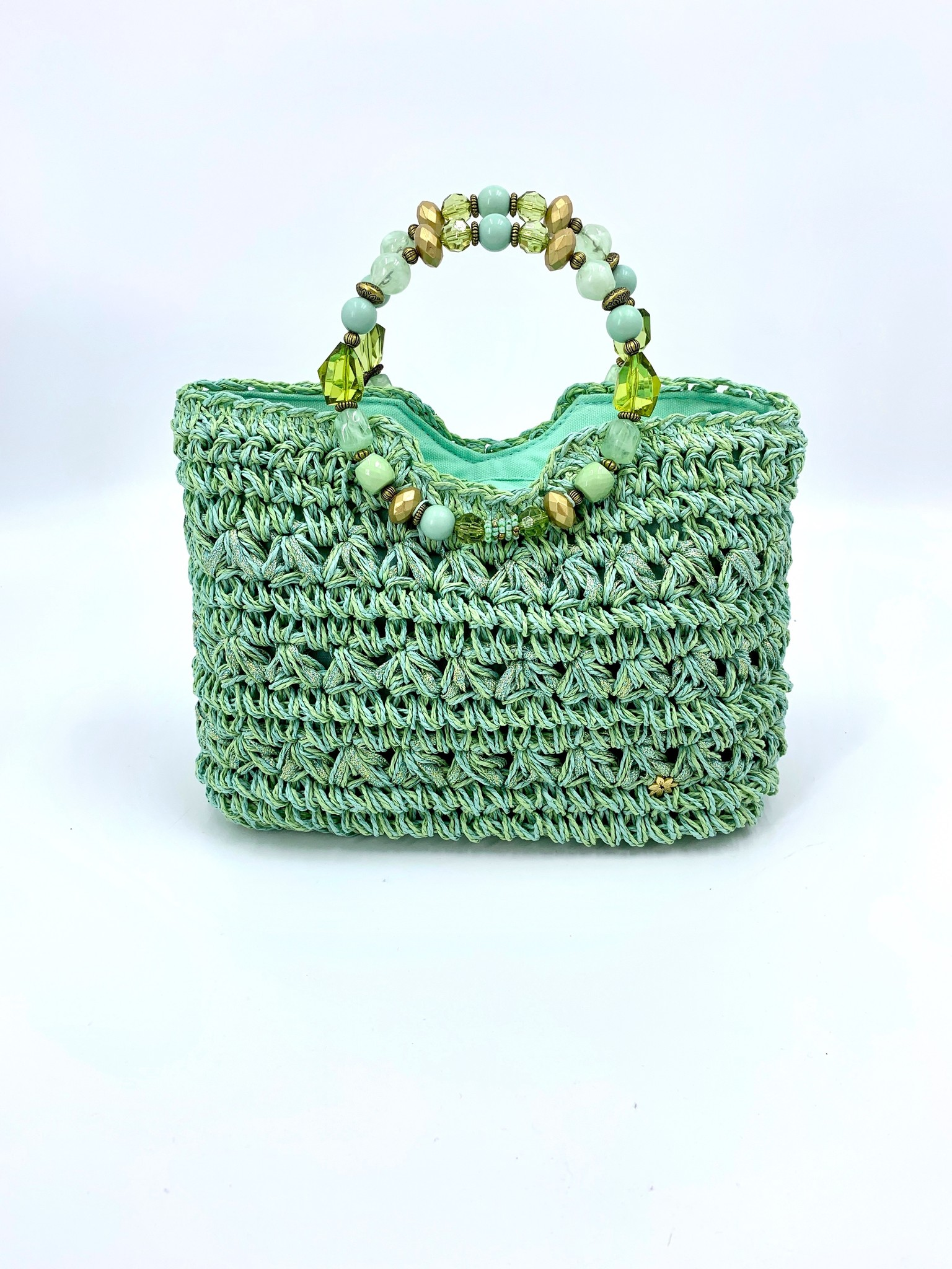 Cappelli Jeweled Handle Bag