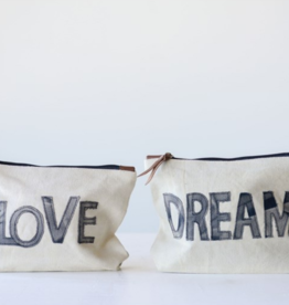 Creative Co-Op Creative Co-Op Love/Dream Pouch
