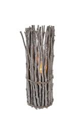 Indaba Driftwood Lantern