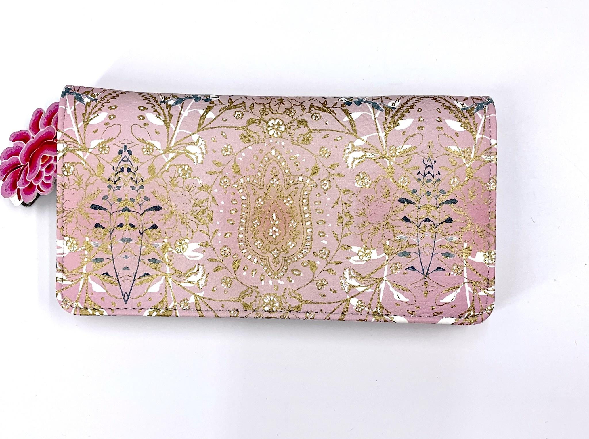Papaya Trifold Wallet