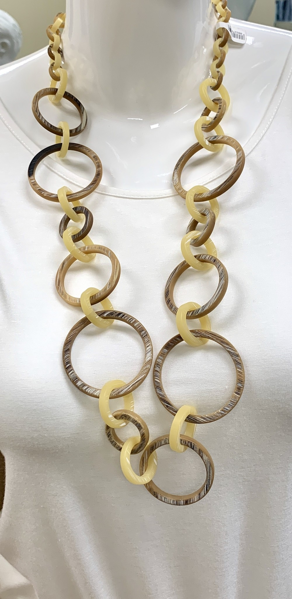 Robert A Horn Necklace