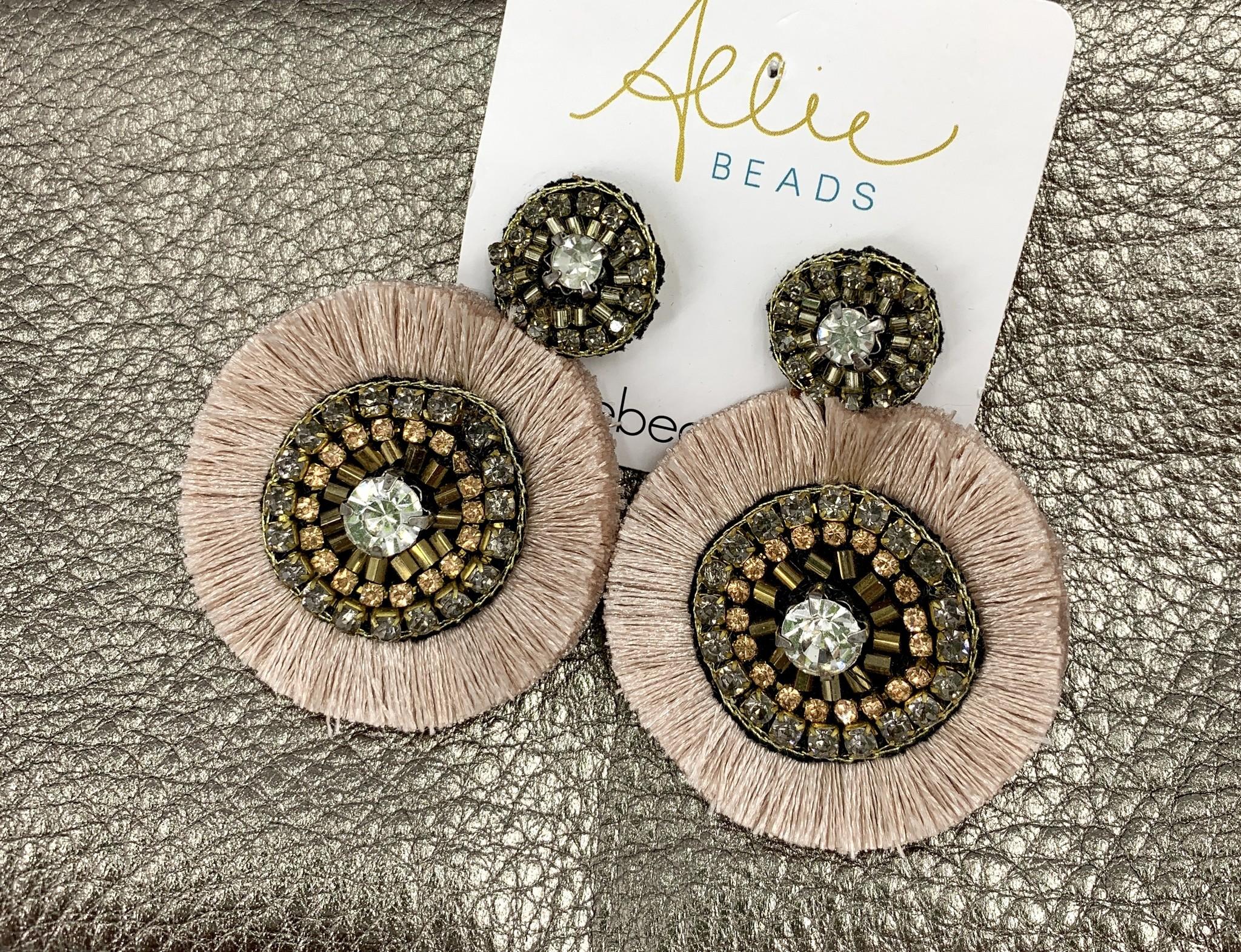 Allie Chanel Pink Earrings