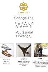 Cambiami  Sandal Strap Laser Cut