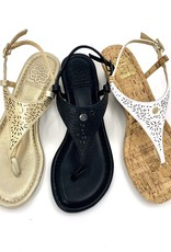 Cambiami Sandal Strap Metal Leather