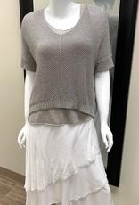 Brand Bazar Crochet Lurex w Tank