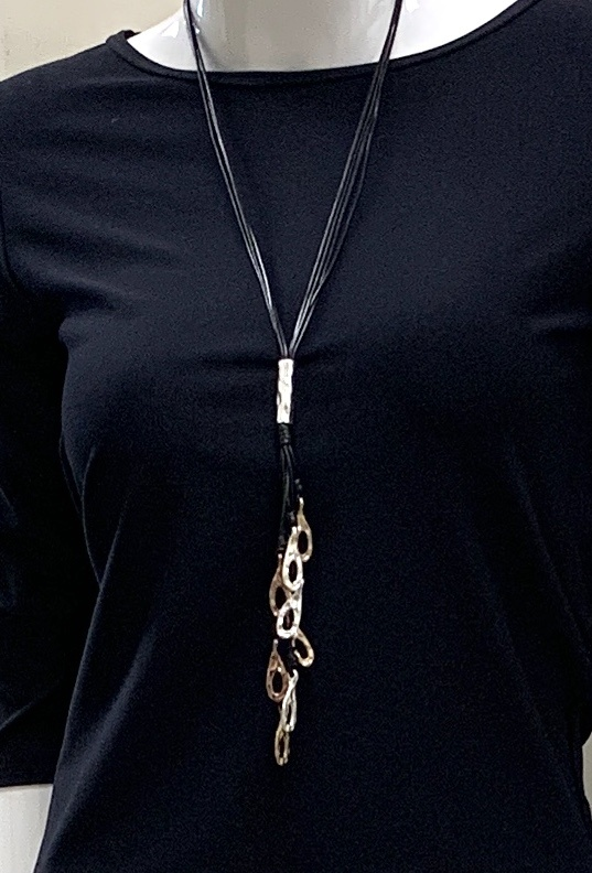 Robert A Multi Metal Necklace