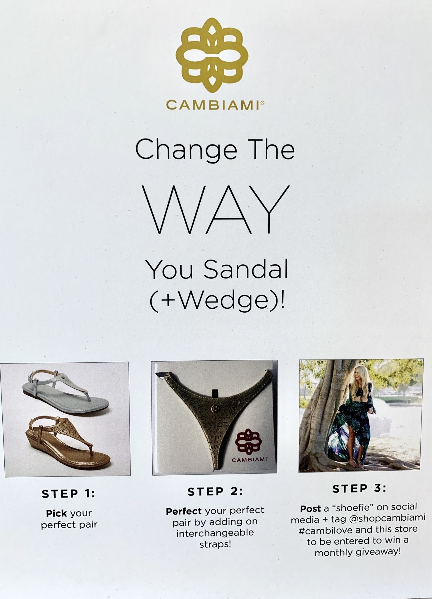 Cambiami Wedge