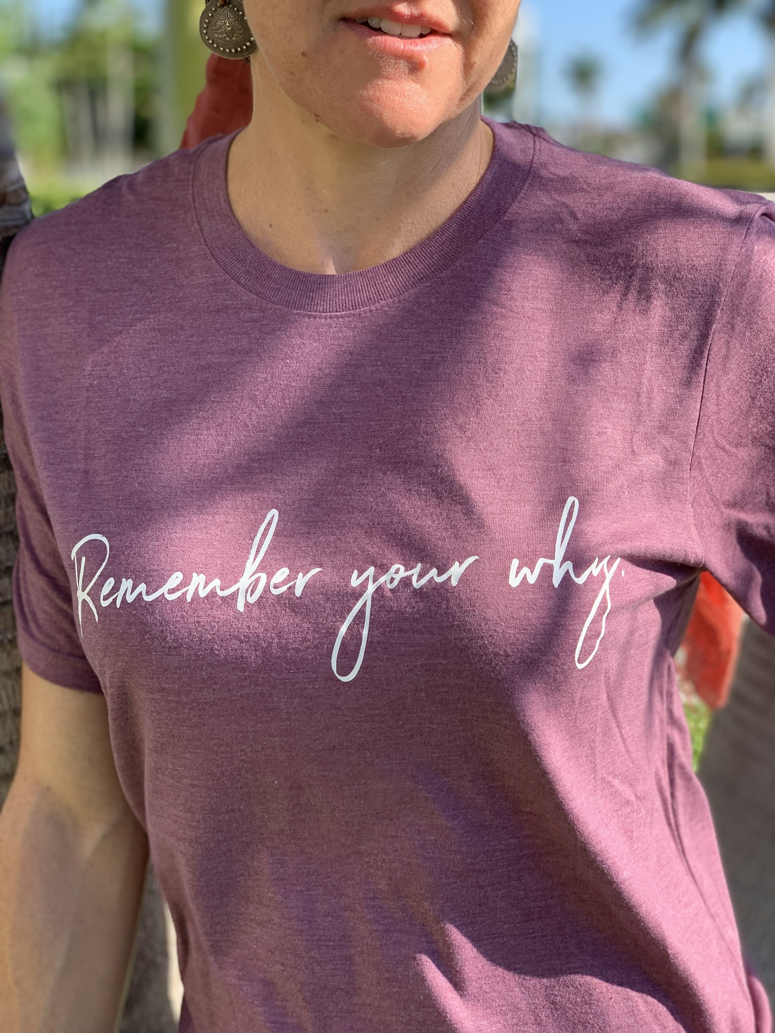 Know Purpose 'Remember Your Why' Tee