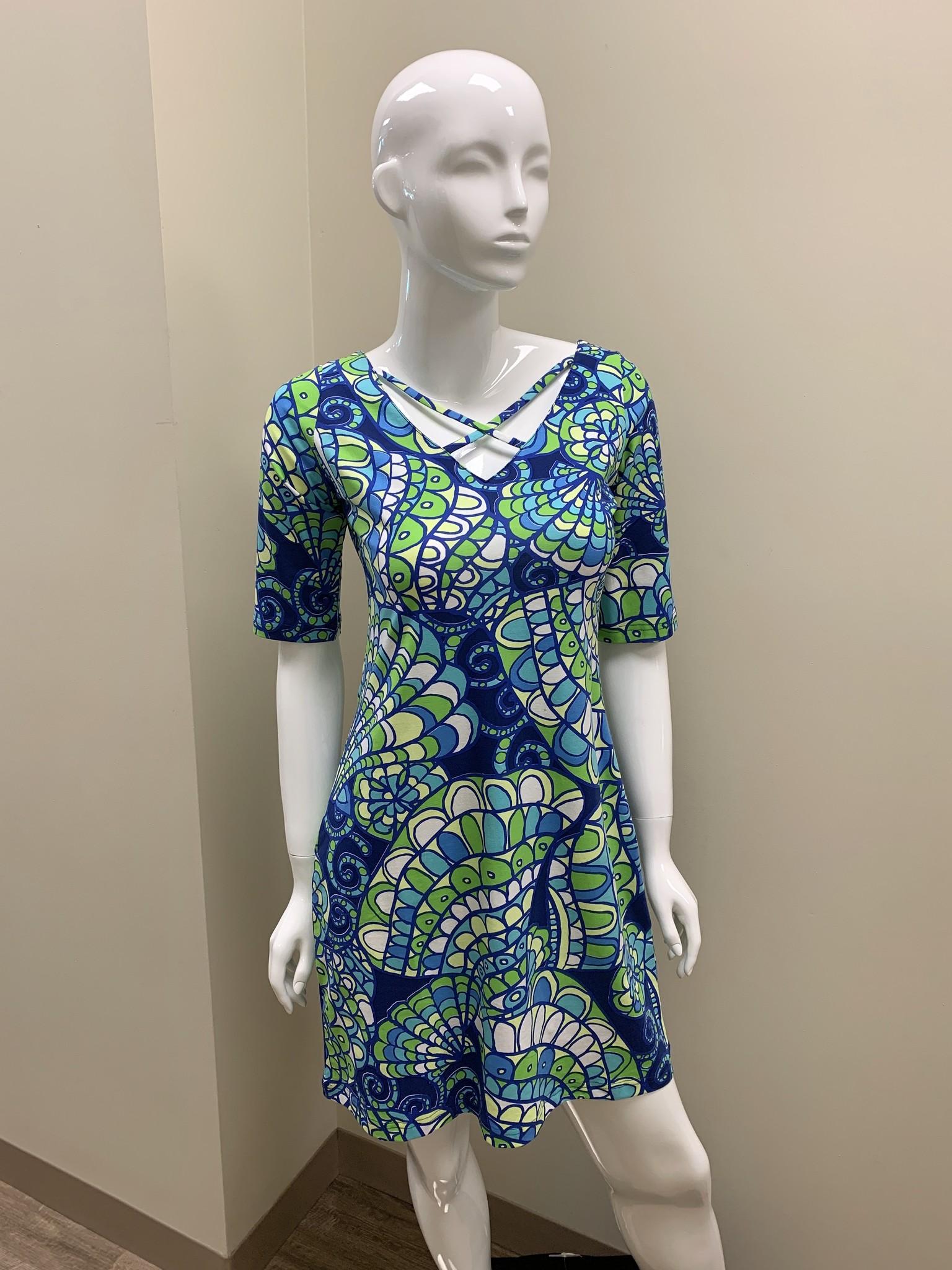 Tabi Reverse V Dress
