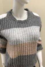 Scandal Cold Shoulder Sweater