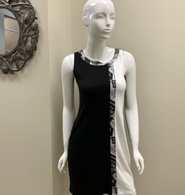 TATM Newsprint Dress