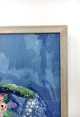 Sea Turtle - 6x6 Mini Framed Art