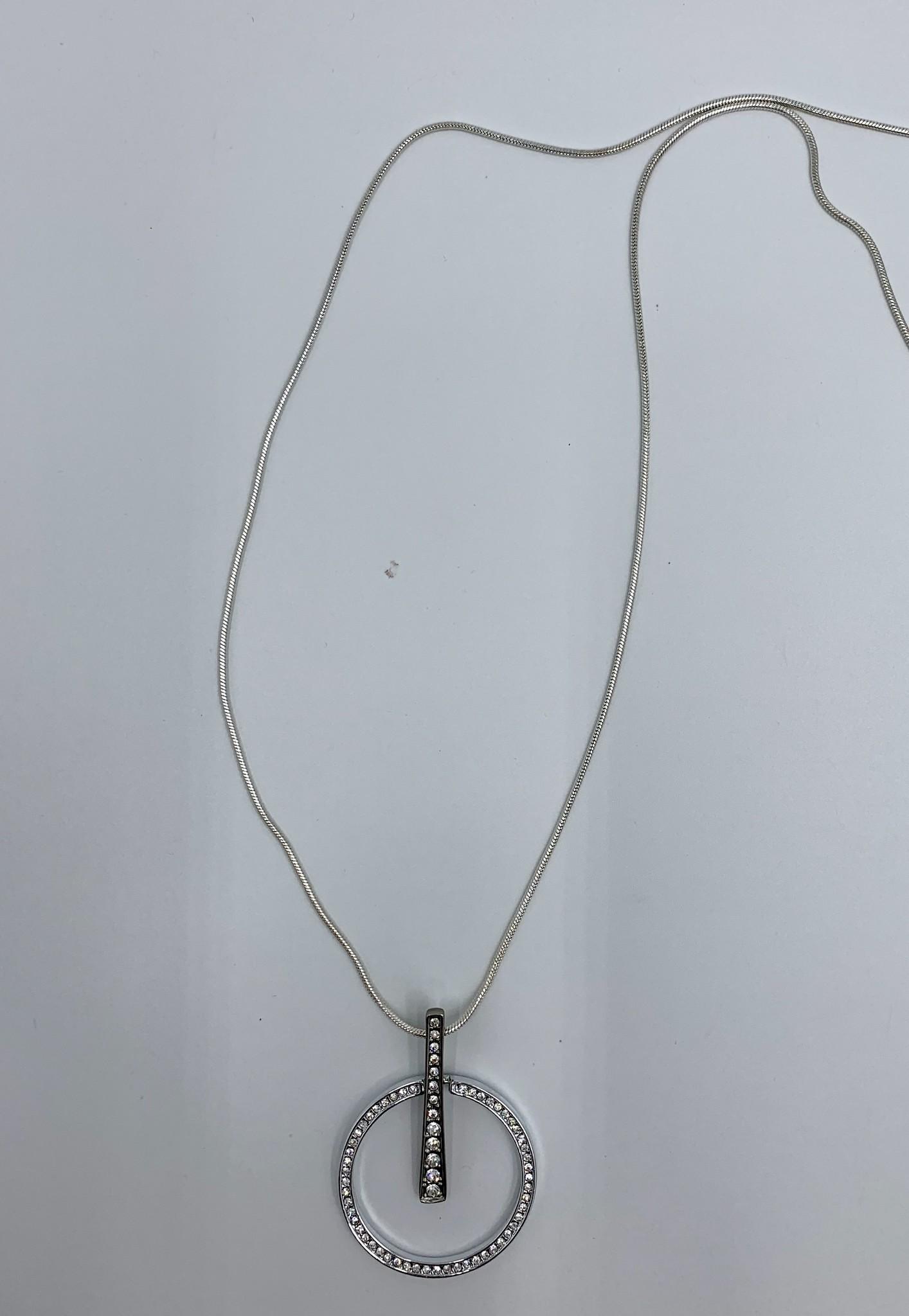 Robert A Rhinestone Necklace
