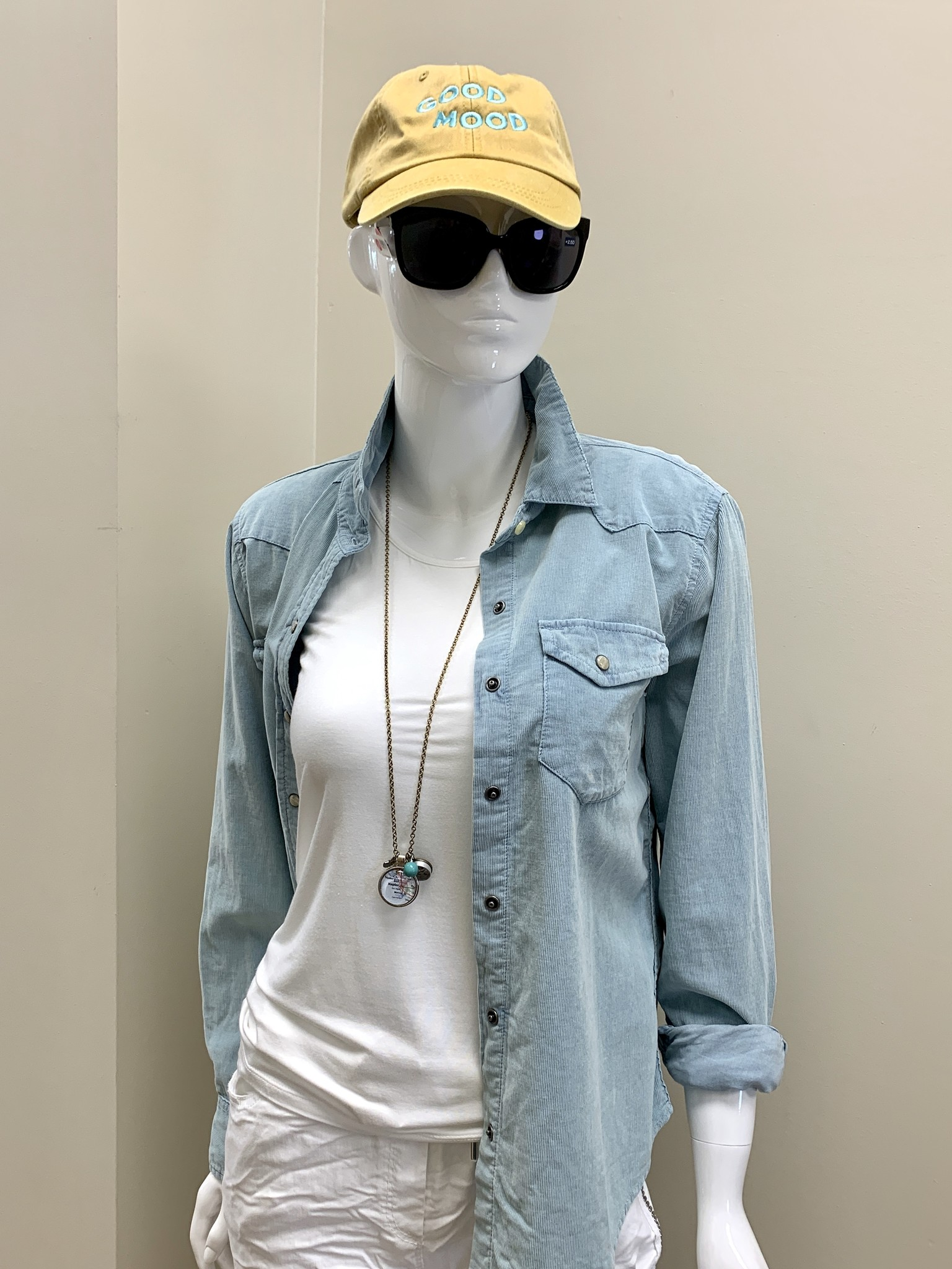 dylan Snowcap Cord Shirt