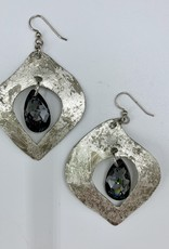 Abby May Leaf Earring - Silver or Gold