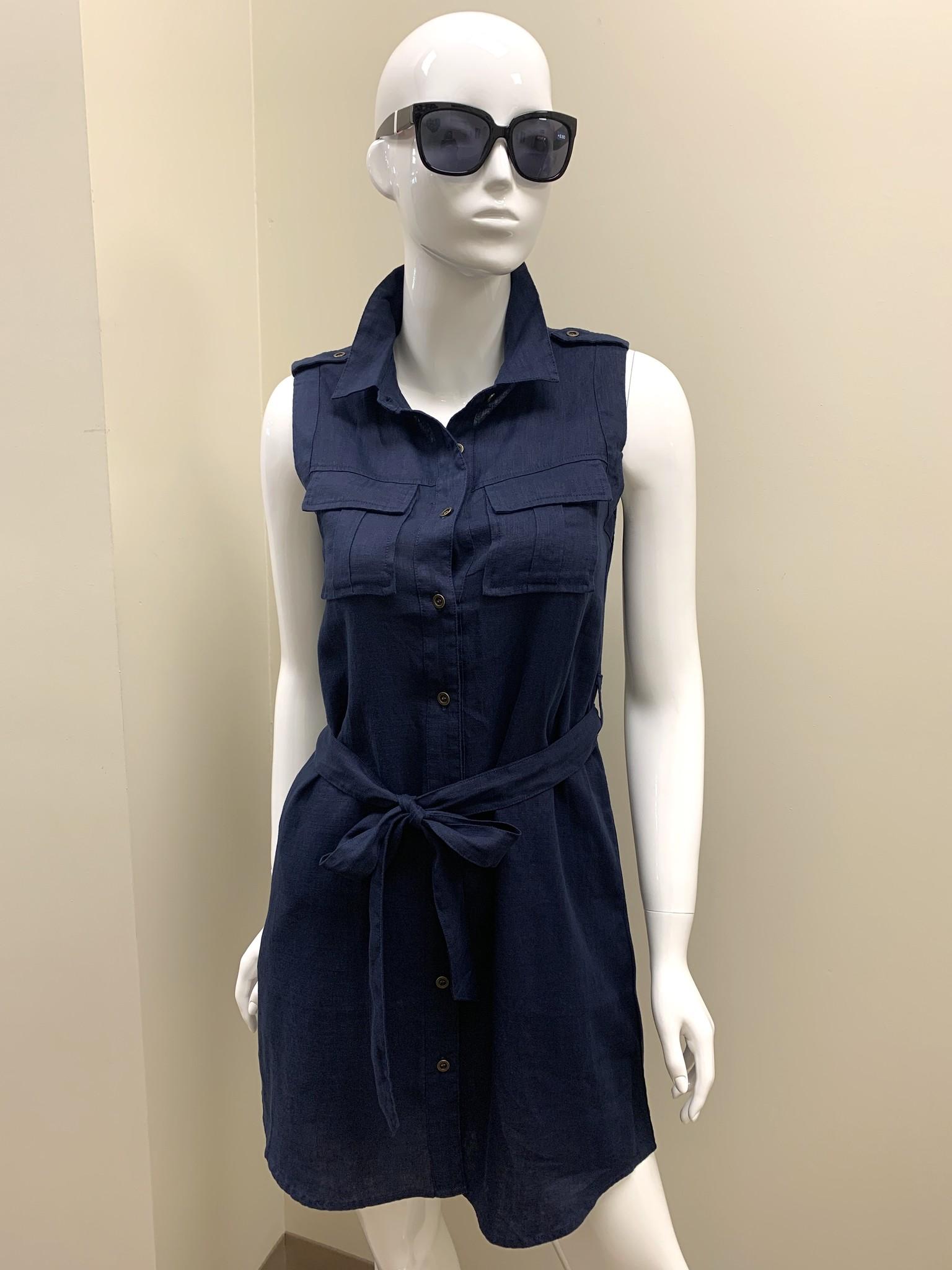 Velvet Heart Velvet Heart Ruthie Linen Pocket Dress