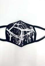 berek Mask by berek - Scribble Print B/W