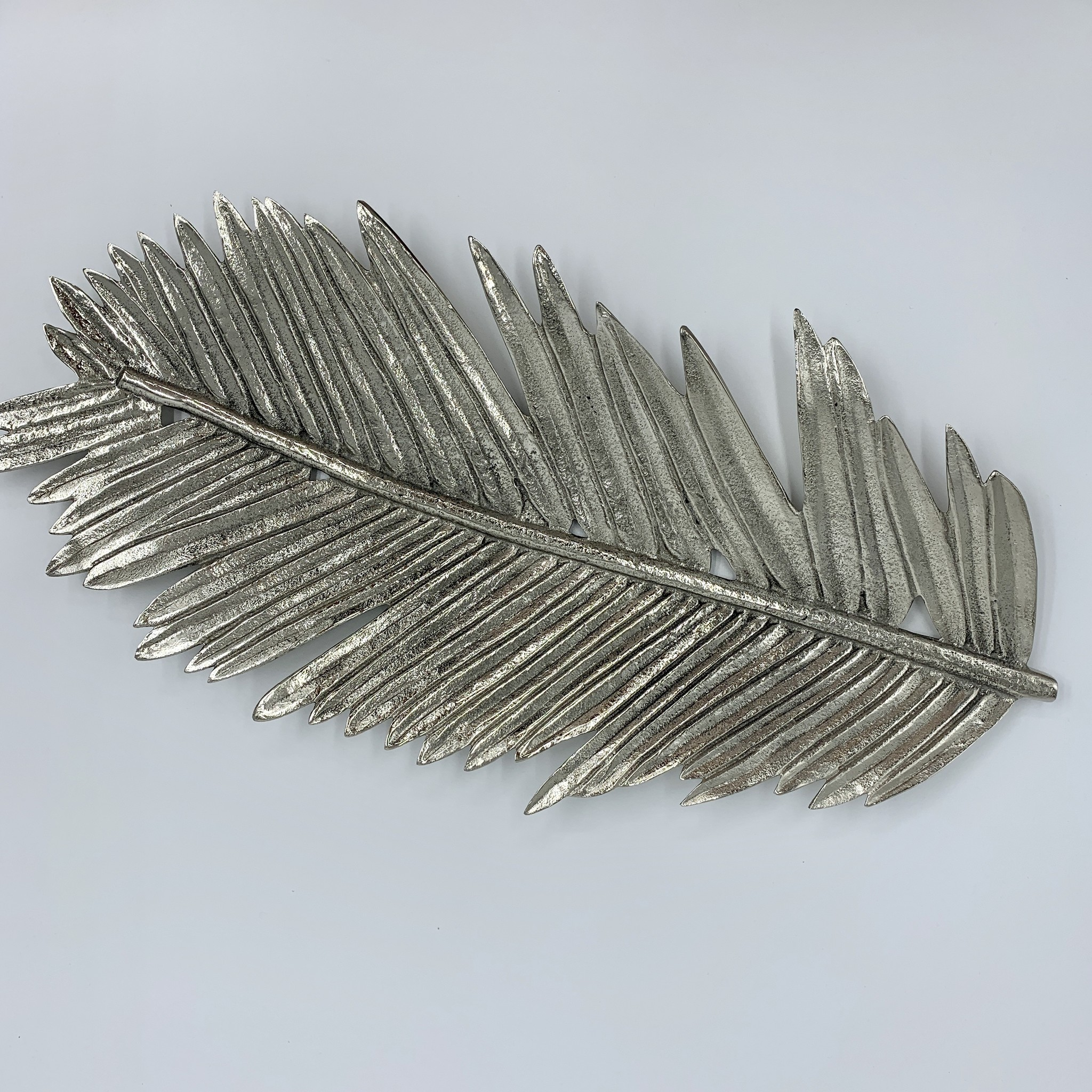 Zodax Silver Palm Tray