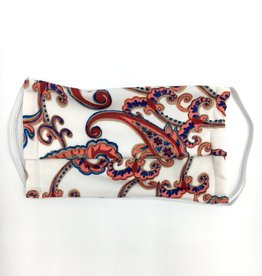 Julian Chang Mask Pink Paisley