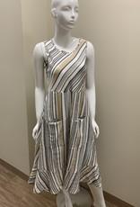 BAR Midi Tiered Dress