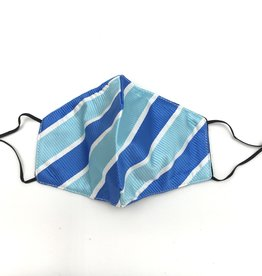 berek Mask by berek - Textured Blue Stripe