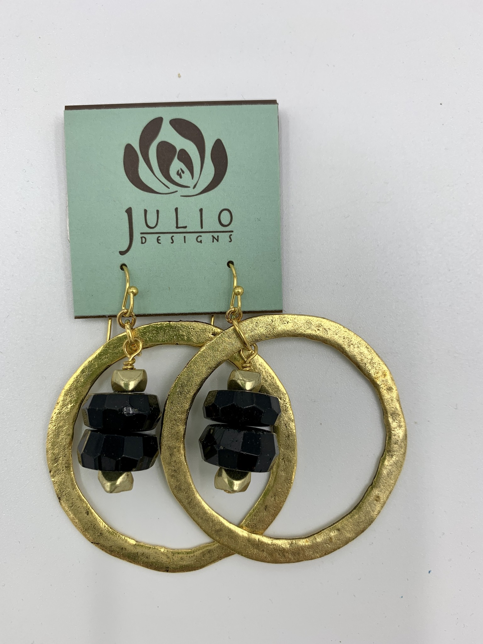 Julio Designs Brass Hoop