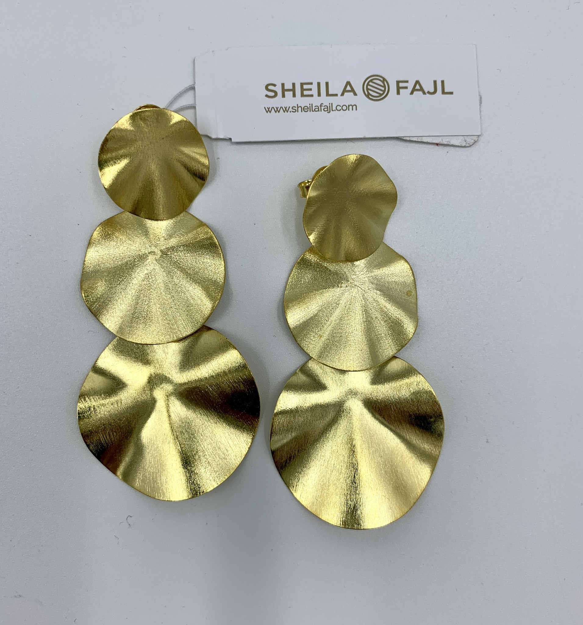 Sheila Fajl Triple Gold