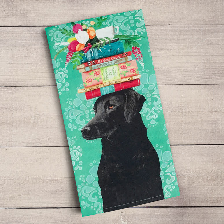 Greenbox Tea Towel A Woman's Best Friend