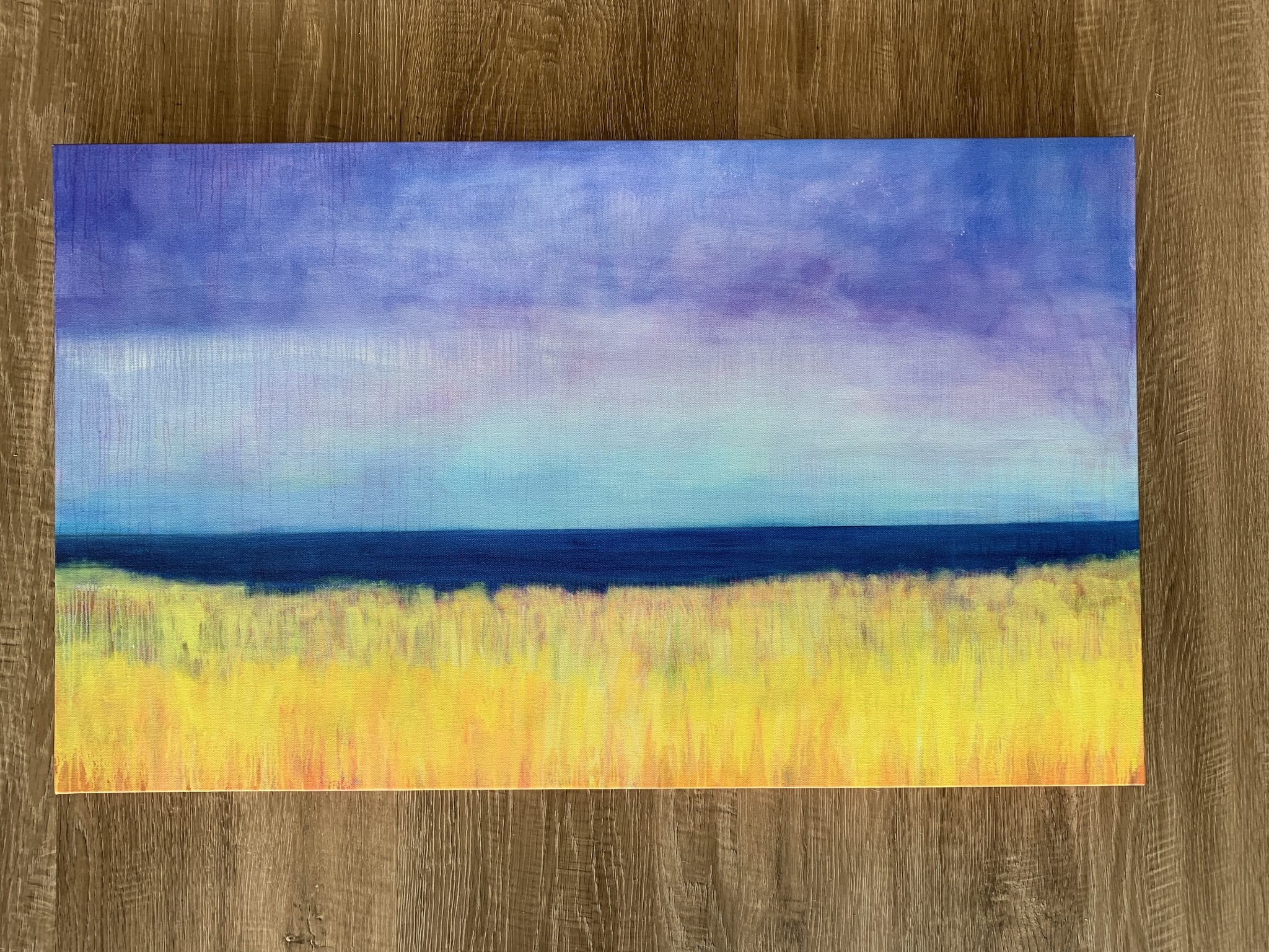 Who's There - 30x18 Canvas Art