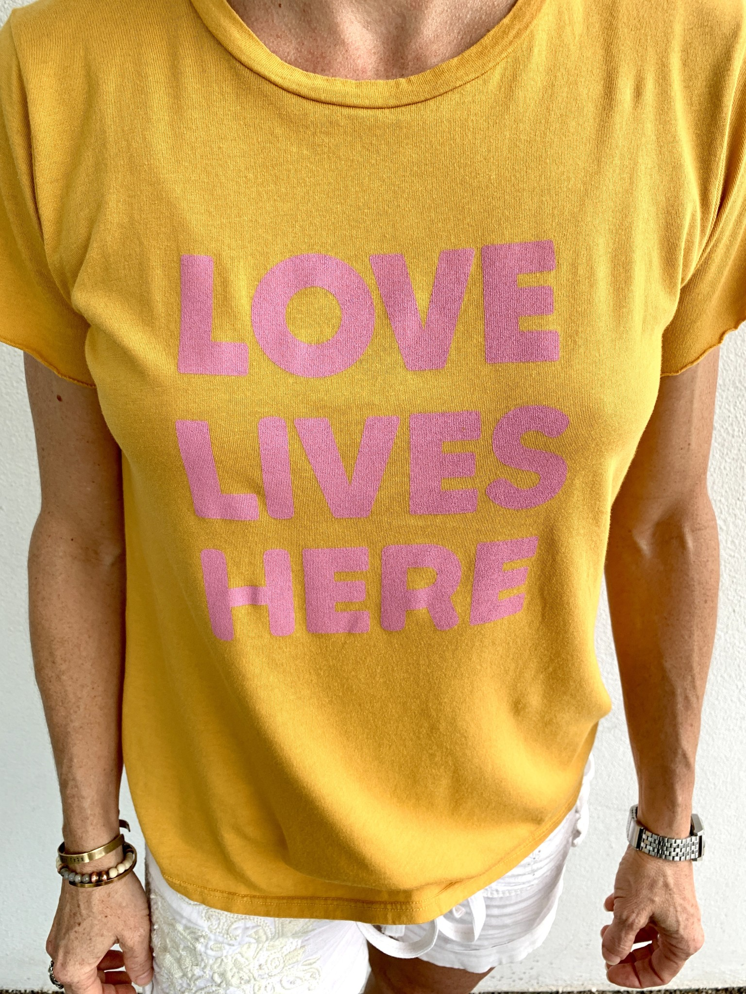 Be Love 'Love Lives Here' Tee