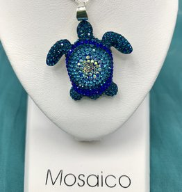 Mosaico Sea Turtle Necklace