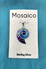 Mosaico Nautilus Necklace