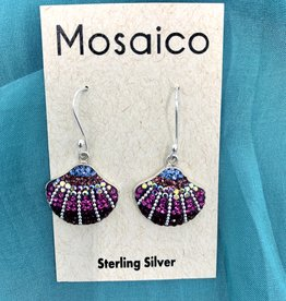 Mosaico Clam Shell Earring