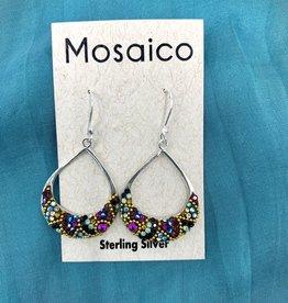 Mosaico Swing Earring Deep Multi