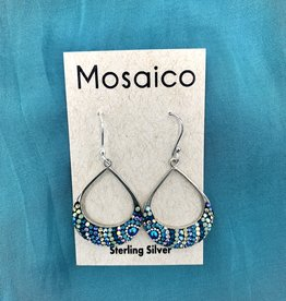 Mosaico Mosaico Swing Earring Blue Green