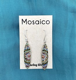 Mosaico Mosaico Oval Earring Neutral