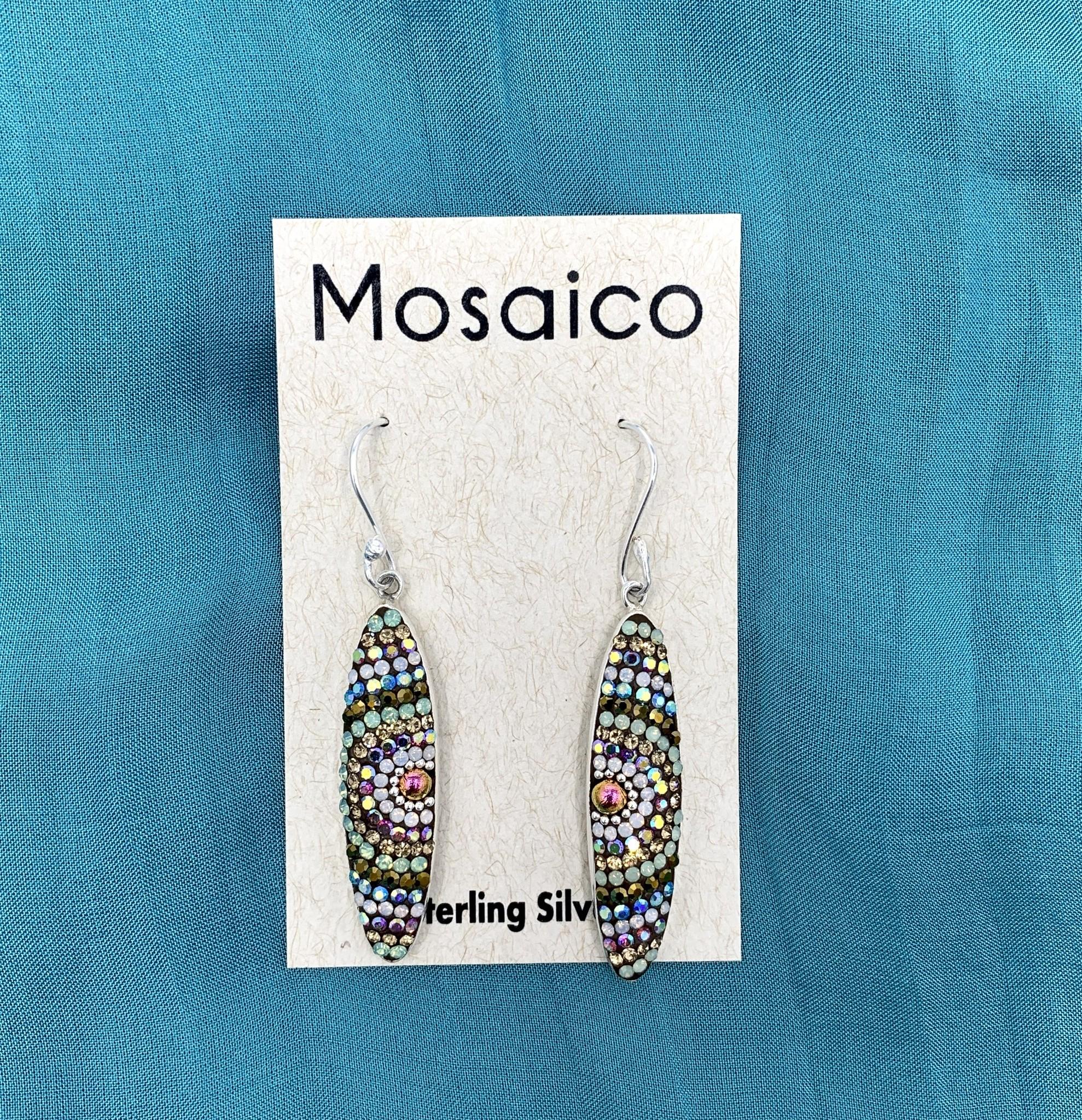 Mosaico Oval Earring Neutral