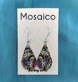 Mosaico Mosaico Teardrop Earring Deep Multi
