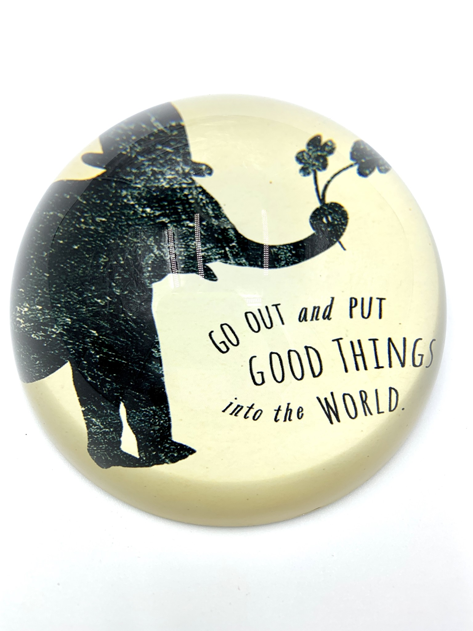 Sugarboo & Co. Sugarboo Paperweight - Put Good Things Into The World