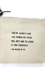 Sugarboo & Co. Sugarboo Canvas Zip Bag - The Wizard of Oz