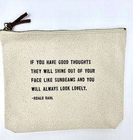 Sugarboo & Co. Sugarboo Canvas Zip Bag - Always Look Lovely