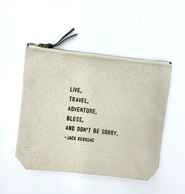 Sugarboo & Co. Sugarboo Canvas Zip Bag - Live Travel Adventure