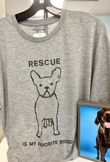 Sugarboo & Co. Sugarboo Tee - 'Rescue Is My Favorite Breed'