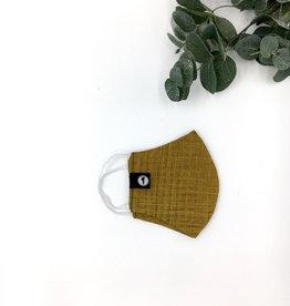 Zwende Block Print Mask - Yellow Ledbetter