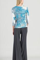 Clara Sun Woo Clara Sunwoo Tie Dye Cascade Top