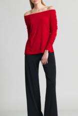 Clara Sun Woo Clara Sunwoo Knit Straight Pocket Pant - Black