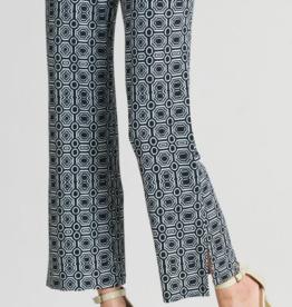 Clara Sun Woo Clara Sunwoo Tiles Pant Side Slit - B/W